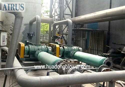 HDSR175BT roots blower for coal gas in steel plant