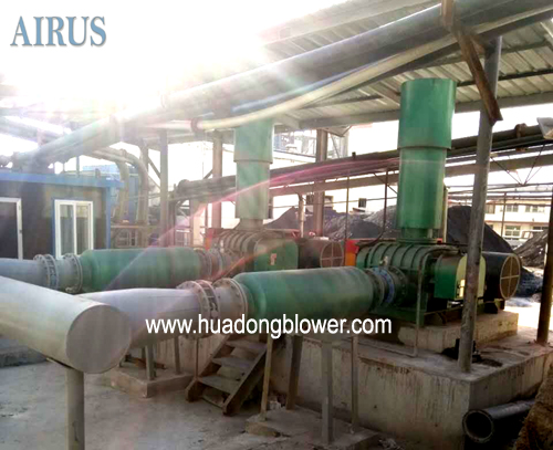HDSR Series Roots Blowers For Golden Mine