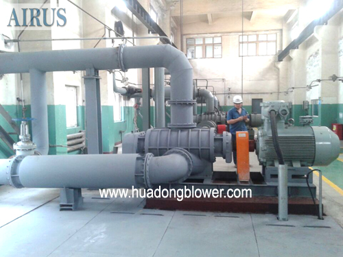 HDSR350 roots blower for coal gas in steel plant