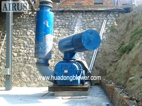 HDL94 twin lobe roots blower for chemical plant