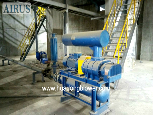 HDSR150 MJ roots blower package for cement