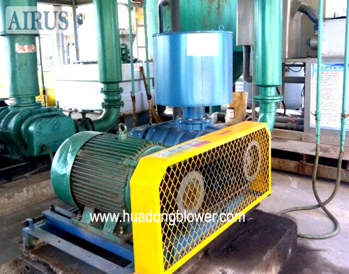 HDSR Series Three Lobe Roots Blower In Agricultural Chemical Factory