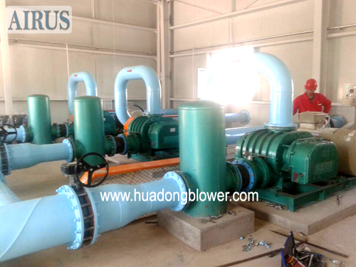 HDSR250B Positive Displacement Blower For Wastewater Treatment Aeration