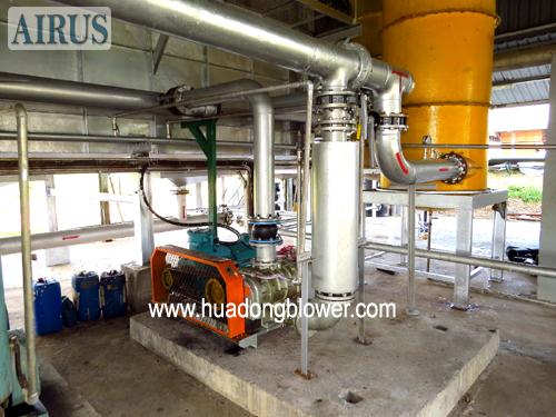 Roots Blower For Biogas In Landfill System