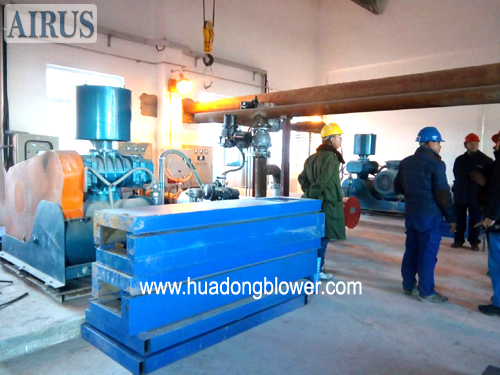 HG series high rotary speed roots blower in electric generation power plant